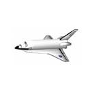 飛行機 スペースシャトル 3D