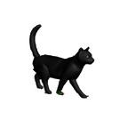 動物 猫 3D